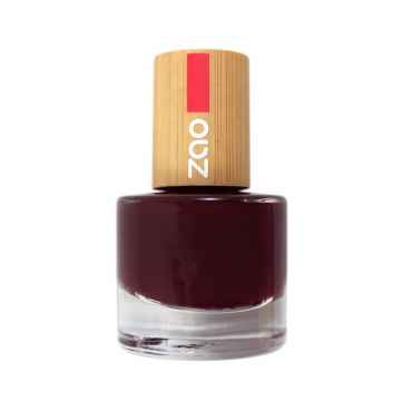 ZAO Lak na nehty 659 Black Cherry 8 ml