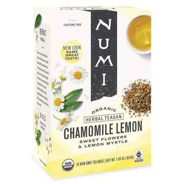 Numi Bylinný čaj Chamomile Lemon 18 ks, 30,6 g