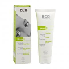 Eco Cosmetics Pleťový čistící gel zelený čaj/vinné listy 125 ml