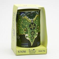 English Tea Shop Dárková sada slon, zelené čaje 60 ks, 90 g
