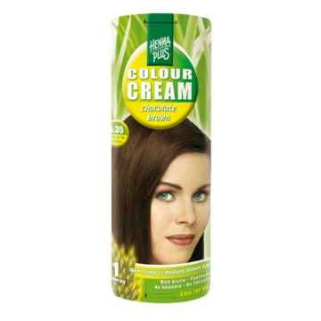Henna Plus Barva krémová Čokoládová 5.35 60 ml
