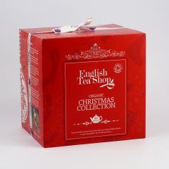 English Tea Shop Vánoční kostka červená 144 g, 96 ks