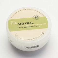 Savon Du Midi Holící mýdlo v plastové krabičce Mediterranean 150 g