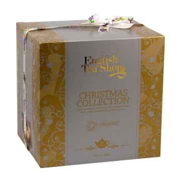 English Tea Shop Vánoční kostka zlatá, bio 144 g, 96 ks