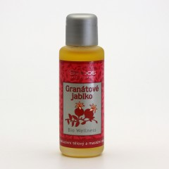 Saloos Masážní olej granátové jablko, wellness 50 ml