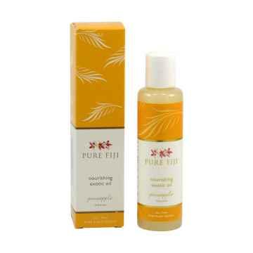 Pure Fiji Exotický masážní a koupelový olej, ananas 90 ml