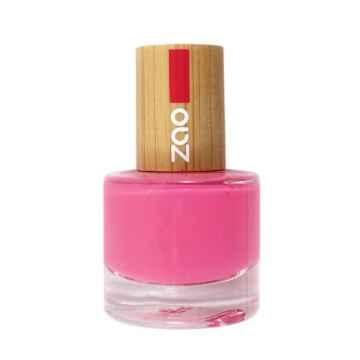 ZAO Lak na nehty 657 Fuchsia Pink 8 ml
