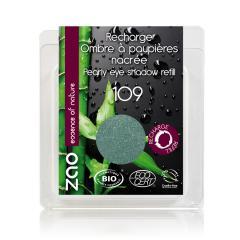 ZAO Třpytivé oční stíny 109 Pearly Turqoise 3 g náplň