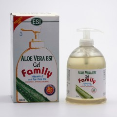ESI Gel Aloe vera s vitamínem E a tea tree family 500 ml
