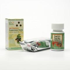 Lanzhou Pharmaceutical TCM formule 182 Qi Ju Di Huang Wan 192-200 kuliček, 33 g