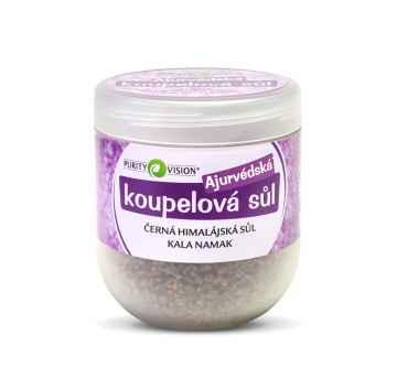 Purity Vision Ajurvédská koupelová sůl (černá himalájská Kala Namak) 1 kg