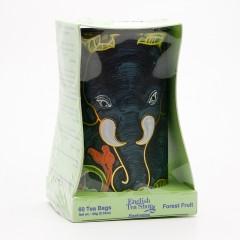 English Tea Shop Dárková sada slon, ovocné čaje 60 ks, 90 g