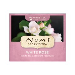 Numi Organic Tea White Rose, bílý čaj 2 g, 1 ks