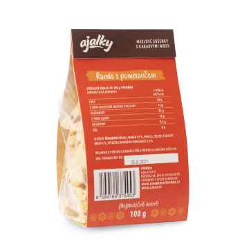 AJALA CHOCOLATE BIO Ajalky Rande s pomerančem, máslové sušenky 100 g