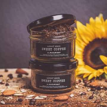 Almara Soap Scrub na tělo i obličej, Sweet Coffee 85 g