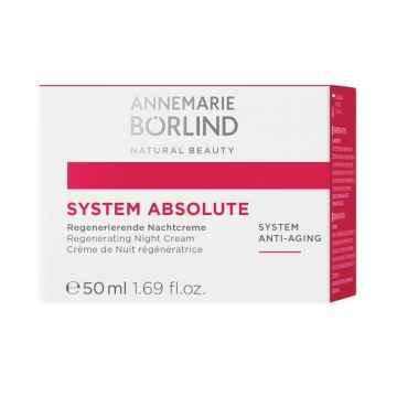Annemarie Börlind Noční krém na zralou pleť, System Absolute 50 ml