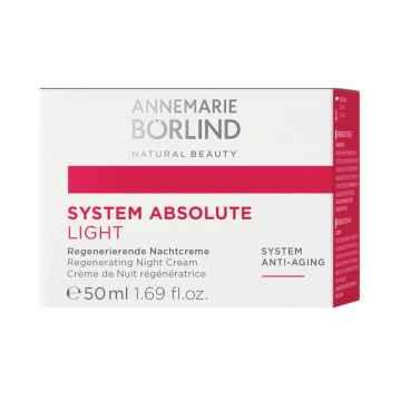 Annemarie Börlind Noční krém na zralou pleť Light, System Absolute 50 ml