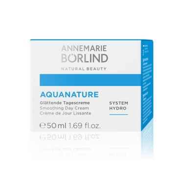 Annemarie Börlind Vyhlazující hydratační denní krém, Aquanature 50 ml