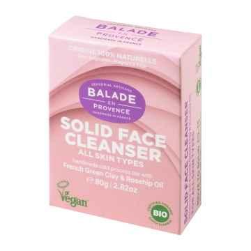Balade en Provence BIO Jemné tuhé odličovací mýdlo na obličej 80 g