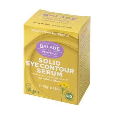 Balade en Provence BIO Slaměnkové tuhé oční sérum 18 g