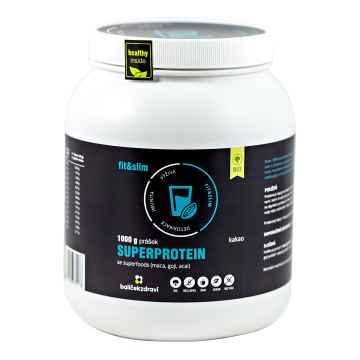 Balíček zdraví Superprotein se superfoods, jahoda 1 kg