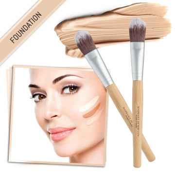 Barbara Hofmann Bamboo štětec na make-up 1 ks