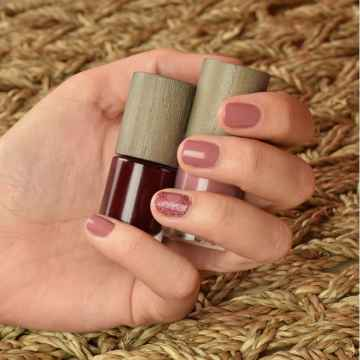 Boho Green Make-Up Lak na nehty Rose Poudre 22 6 ml