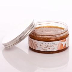 Ceano Cosmetics Tělový peeling se solí prevence celulitidy 300 g