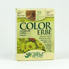 Color Erbe Barva na vlasy Sluneční blond 19, Natur 135 ml