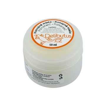Delibutus Konopné máslo Pomeranč 50 ml