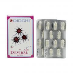 Diochi Deviral Plus, kapsle 60 ks, 37,8 g
