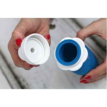 DOMKY Silikonová kapsička modrá 180 ml