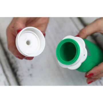DOMKY Silikonová kapsička zelená 180 ml