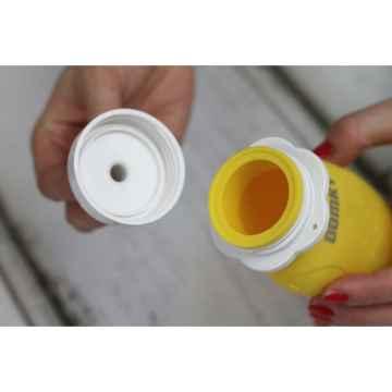 DOMKY Silikonová kapsička žlutá 180 ml