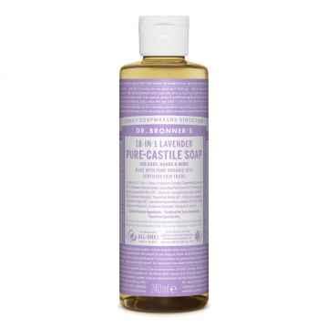 Dr. Bronner's Tekuté universální mýdlo ALL-ONE!, Lavender 240 ml