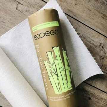Ecoegg Bambusové utěrky 1 role