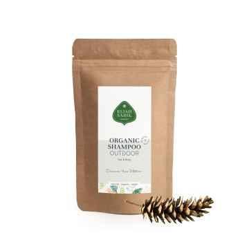 Eliah Sahil Organic Práškový šampon na vlasy a tělo Outdoor 250 g, náplň
