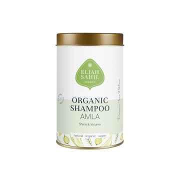 Eliah Sahil Organic Práškový šampon pro lesk a objem Amla a Shikakai 100 g