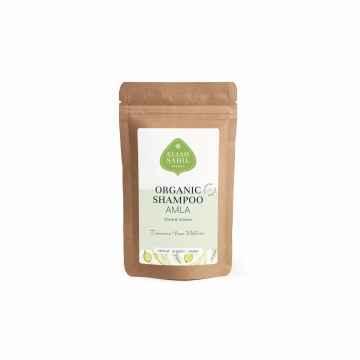 Eliah Sahil Organic Práškový šampon pro lesk a objem Amla a Shikakai 10 g