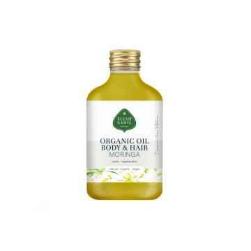 Eliah Sahil Organic Tělový a vlasový olej Moringa 100 ml
