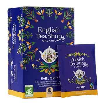 English Tea Shop Černý čaj Earl Grey, bio 40 g, 20 ks