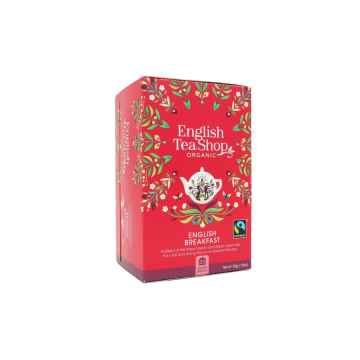 English Tea Shop Černý čaj English Breakfast, bio 40 g, 20 ks
