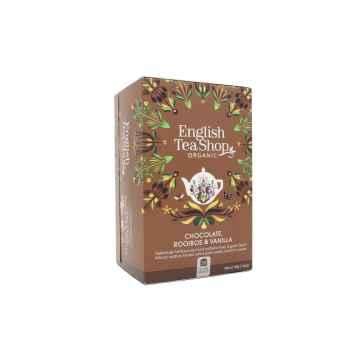 English Tea Shop Rooibos, čokoláda a vanilka, bio 40 g, 20 ks