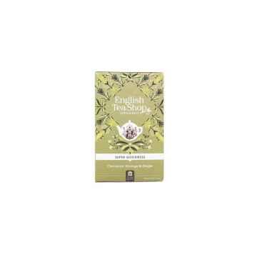 English Tea Shop Skořice, moringa a zázvor Super Veggie Tea, bio 30 g, 20 ks