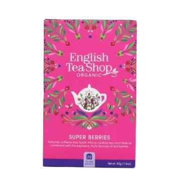 English Tea Shop Super ovocný čaj, bio 30 g, 20 ks