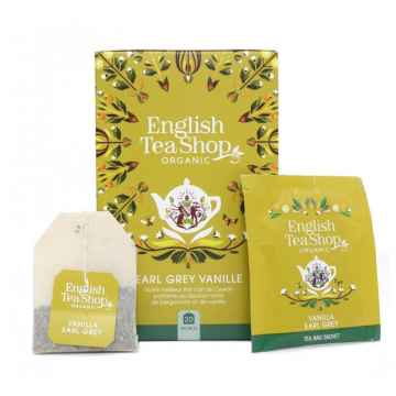 English Tea Shop Vanilka a Earl Grey, bio 40 g, 20 ks