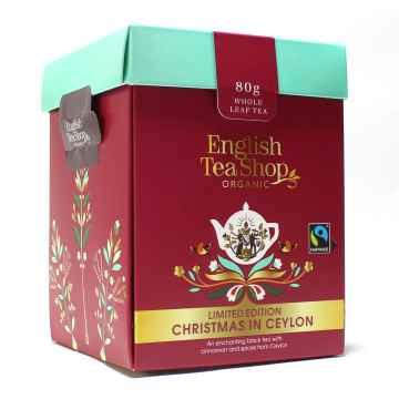English Tea Shop Sypaný čaj Vánoce na Cejlonu, bio 80 g