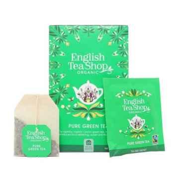 English Tea Shop Zelený čaj, bio 40 g, 20 ks