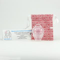FemmyCycle Menstruační kalíšek pro nízký čípek M 1 ks