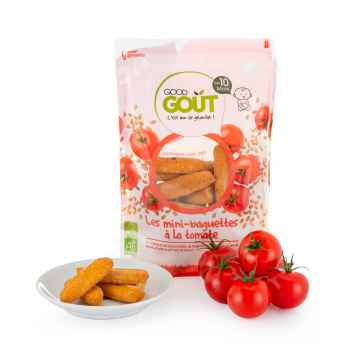 Good Gout BIO Mini bagetky s rajčátky 70 g